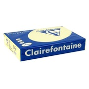 Ream of 250 sheets colored paper A4 160 g Clairefontaine Trophée pastel colors blue