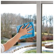 Special microfibre tissue for windows