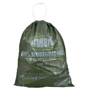 Box of 250 green garbage bags 40 L Atoubio compostable