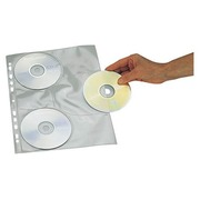 Set, 10 perforated sleeves for 3 CDs
