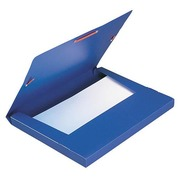 Box folder Elba plastic 24 x 32 cm back 2,5 cm - assorted colours