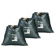 Set 2 x 100 garbage bags 100 liters Bruneau with sliding closure + 1 free