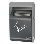 Wall ashtray for outside 1,5 L