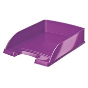 Mail basket Leitz Wow violet metalized