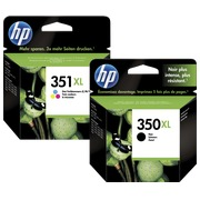Duopack cartridges HP 350XL black + 351XL color