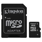 Kingston - flashgeheugenkaart - 8 GB - microSDHC