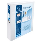 Personalizable folder Exacompta 2 rings polypro A4+ back 6 cm