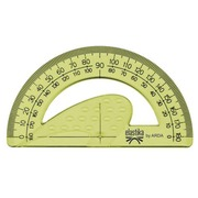 Unbreakable protractor plastic 180°