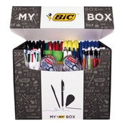 Box 115 writing and correction instruments Bic + 9 for free