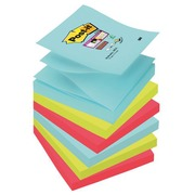 Z-Notes colour Miami Super Sticky Post-it 76 x 76 mm - Block of 90 sheets