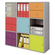 Maxicubes Color 9 partitions - grey