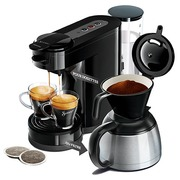 Koffiemachine Senseo Switch 2 in 1 zwart