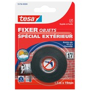 Adhesive tape Tesa double-face for exterior use - length 1,5 m