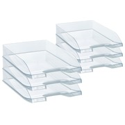 Bruneau Letter Trays Crystal Buy 3, Get 3