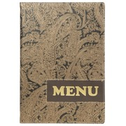 EN_SECURIT MENU DESIGN PAISLEY A4