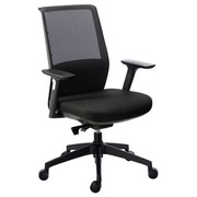 Office chair Atlas mesh back black