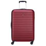 Trolley 55 cm 4 wheels DELSEY red