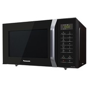 Panasonic NN-K37H - microwave oven with grill - freestanding - black