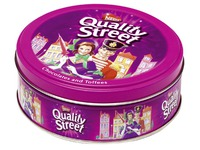 Metal box chocolates Quality Street 480 g