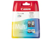 Pack of 2 cartridges Canon PG540 black and CL541 color