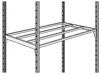 Set of 2 shelves Industripro 125 x 50 cm