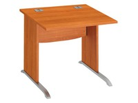 Straight desk Excellens 80 cm L undercarriage